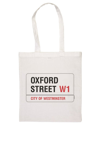 Oxford Street Tote Bag