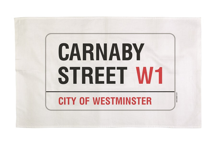 Carnaby Street Tea Towel