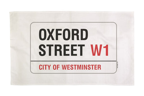 Oxford Street Tea Towel