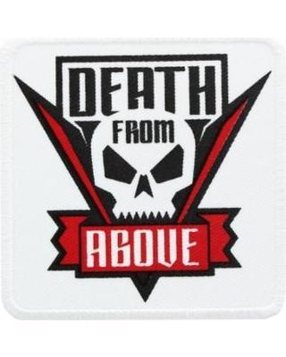 Popvulture com entertainment death from above patch sticker