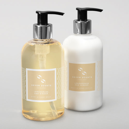Hand Wash & Lotion collection - Lemongrass & Ginger