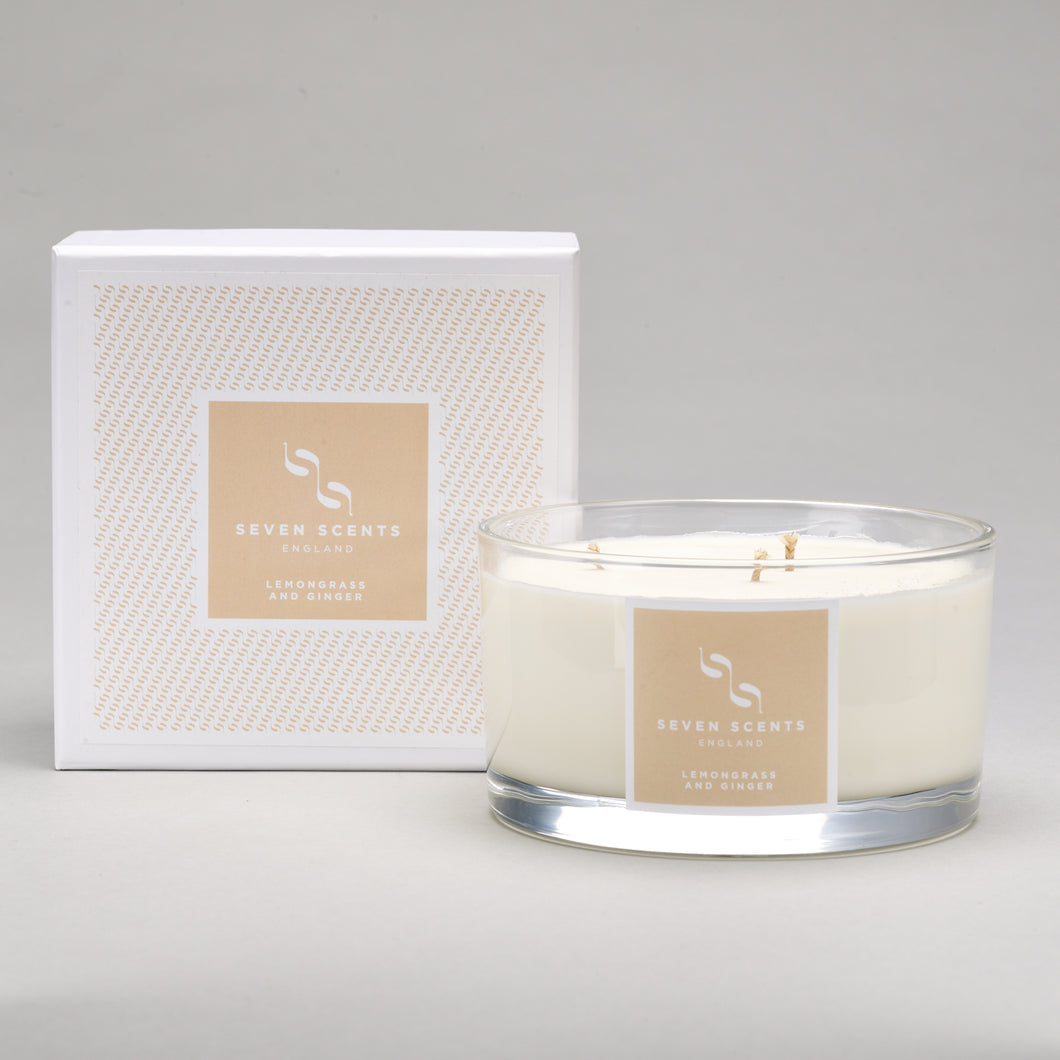 Lemongrass & Ginger Three Wick