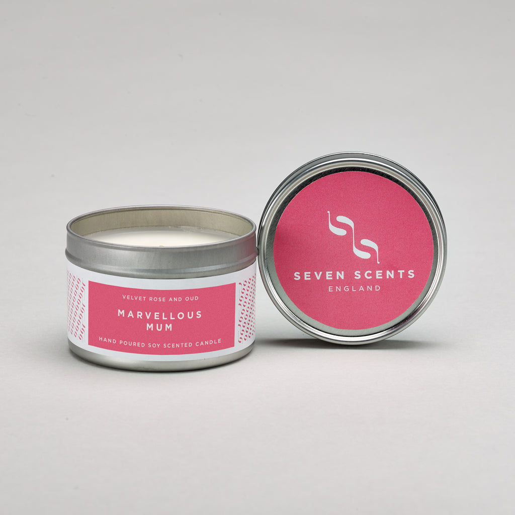 Marvellous Mum - Velvet Rose & Oud Candle Tin