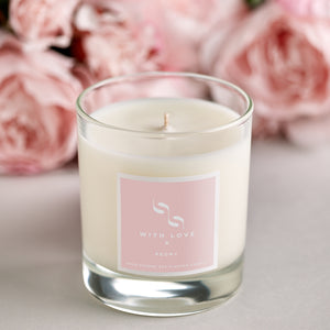 With Love Signature candle