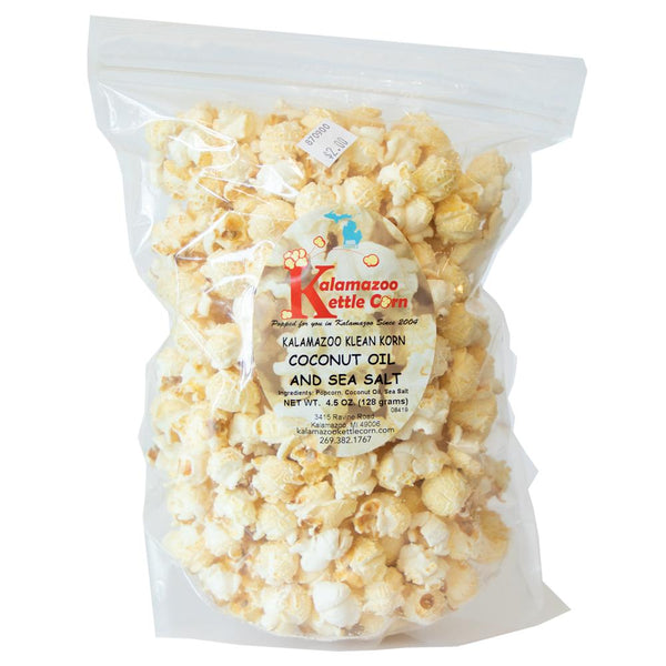 Coconut & Sea Salt - Kalamazoo Kettle Corn
