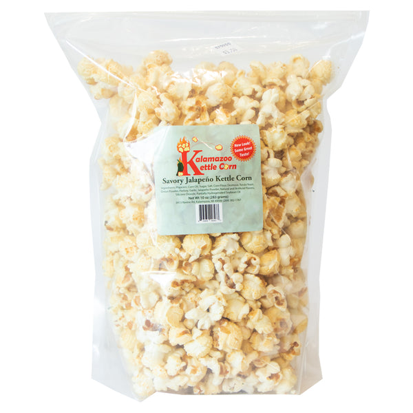 Jalapeño Kettle Corn - Kalamazoo Kettle Corn