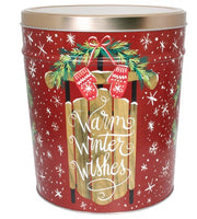 3.5 Gallon Tins - Kalamazoo Kettle Corn Company