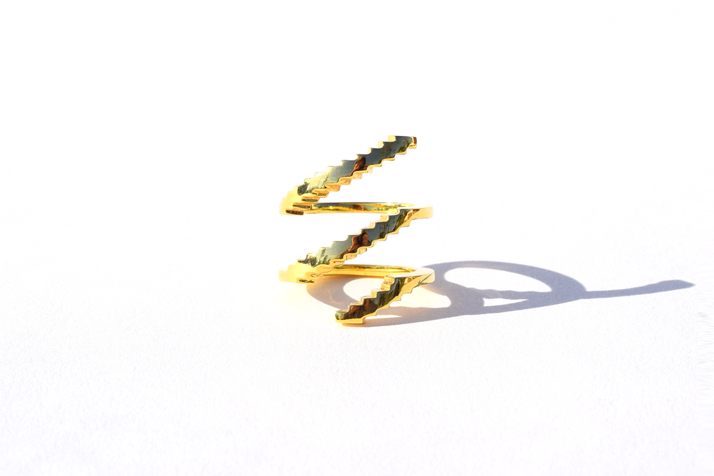 SPIRAL STAIR RING