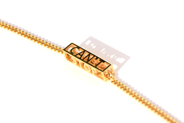 CAN'T STOP WON'T STOP NECKLACE