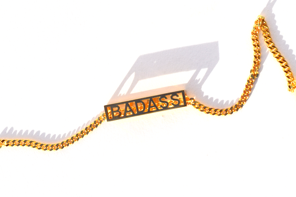I AM BADASS NECKLACE