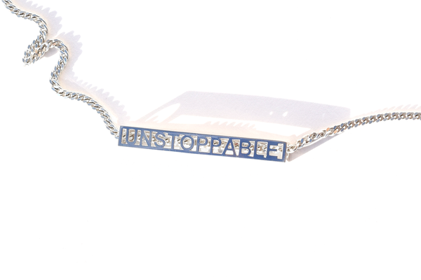 I AM UNSTOPPABLE NECKLACE