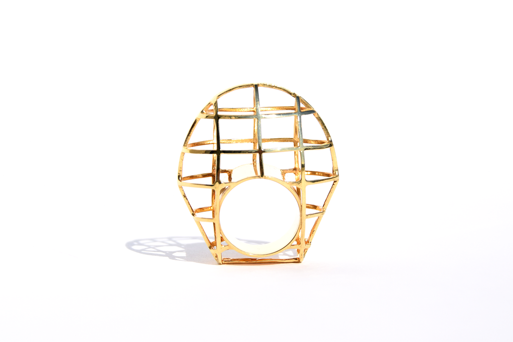 OVAL RING CAGE