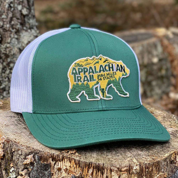 Appalachian Trail Bear Trucker Hat