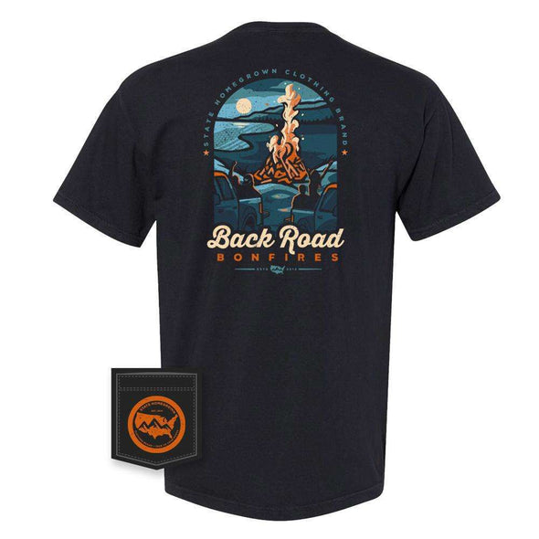 Back Road Bonfire Pocket Tee