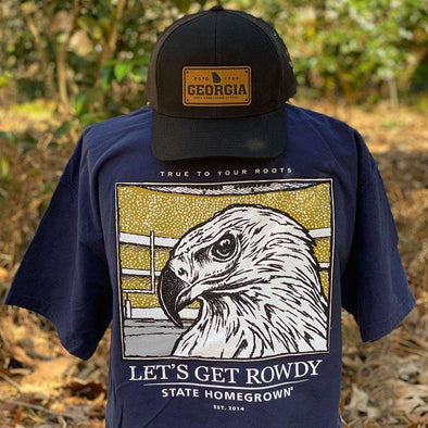 Let's Get Rowdy Eagle Pocket Tee