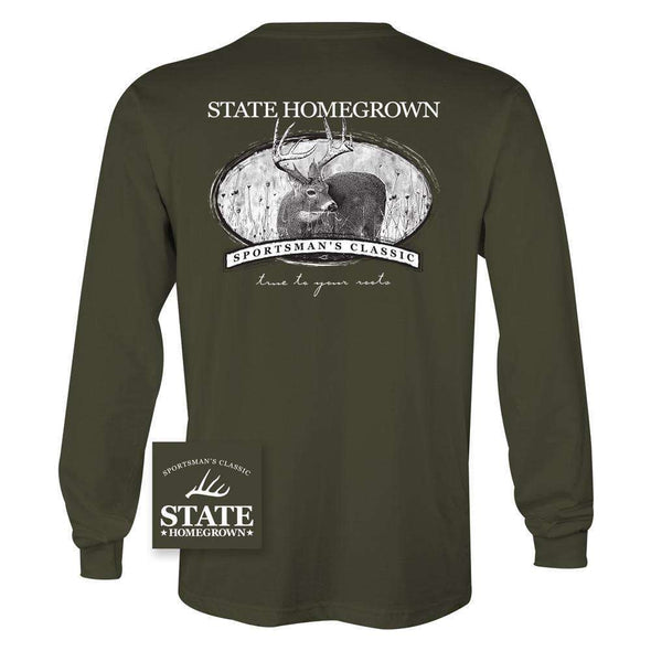 Classic Deer Hunter Long Sleeve Tee