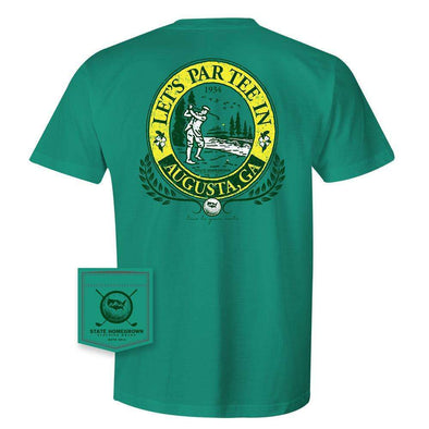 Augusta Georgia Golf Pocket Tee