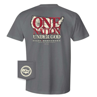 One Nation SS Pocket Tee