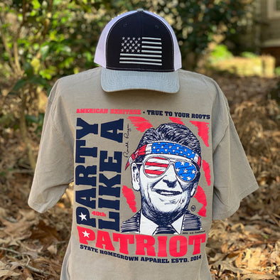 Party Like A Patriot Pocket Tee