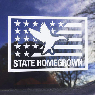 Duck Flag Decal