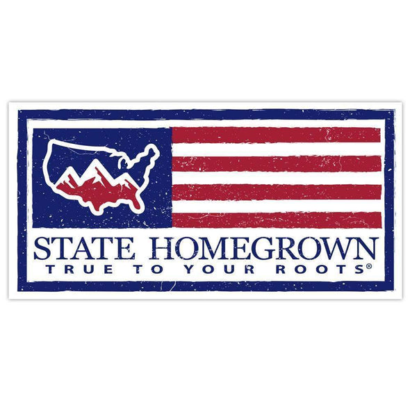 SHG US Flag Decal