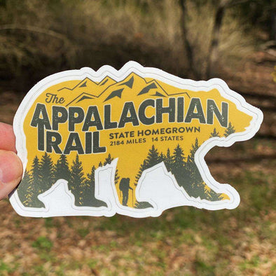 Appalachian Trail Bear Decal