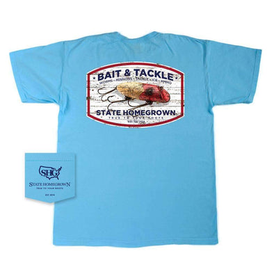 Bait & Tackle Short Sleeve Pocket Tee