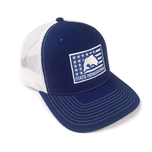 Bass Flag Trucker Hat