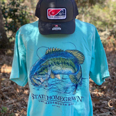 The Largemouth Bass Pocket Tee