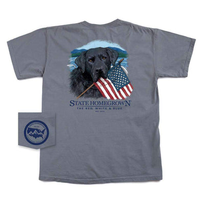The Red, White & Blue Patriotic Short Sleeve Pocket Tee