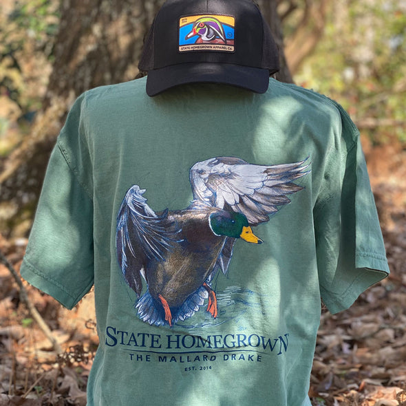 The Mallard Drake Short Sleeve Pocket Tee