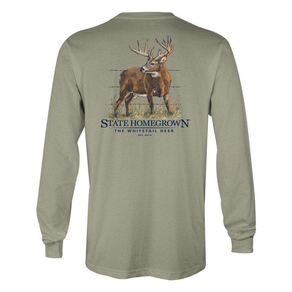 The WhiteTail Deer Long Sleeve Tee