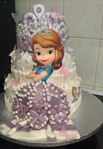 Princess Sophia Birthday Cake