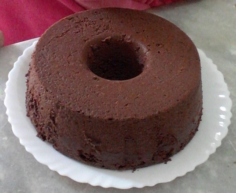 Homemade Chocolate Cake ( in tin of hole )