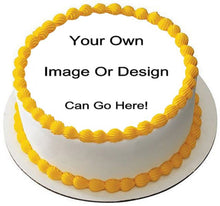 Personalized Cake With Your Own Photo or Picture in edible Icing