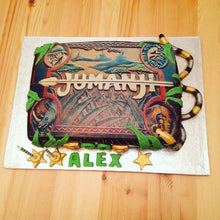 Jumanji Game Theme Birthday cake
