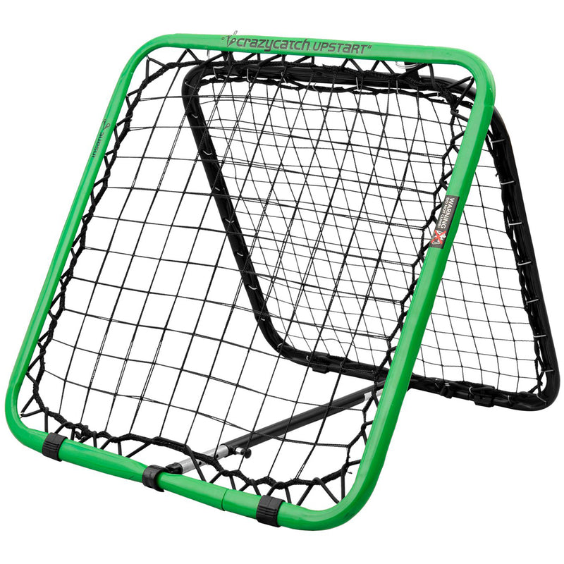 Crazy Catch - Sports Training, Upstart Regular 2.0 Rebounder Net, for use with Football, Basketball, Baseball and more