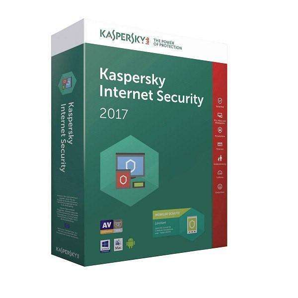 Kaspersky Internet Security 2017 3PC 1ÅR - Gamer Nation NO