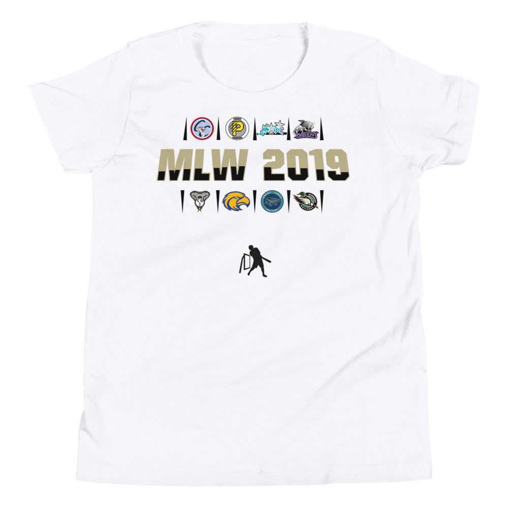 MLW 2019 YOUTH Tee - White