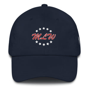 Official MLW Dad Hat - Navy