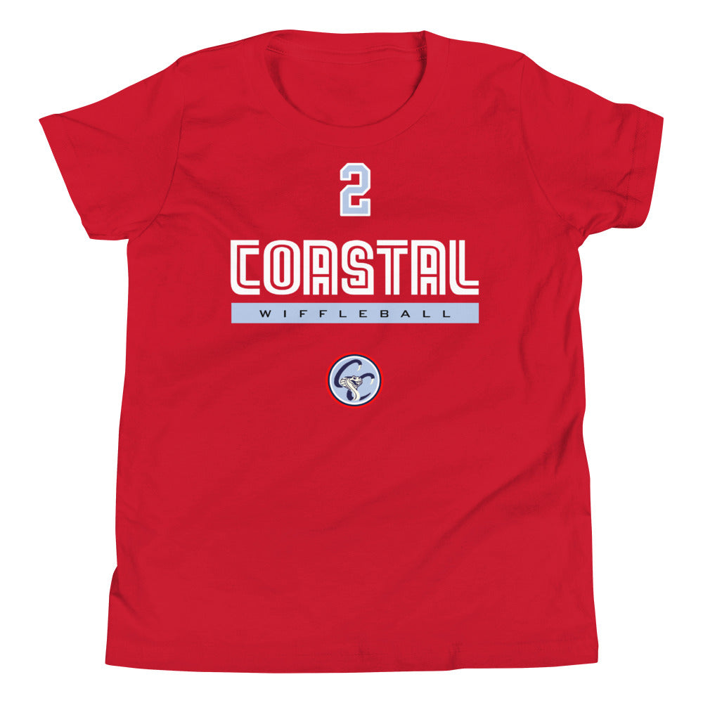 Drew Davis Coastal Cobras YOUTH Jersey Tee
