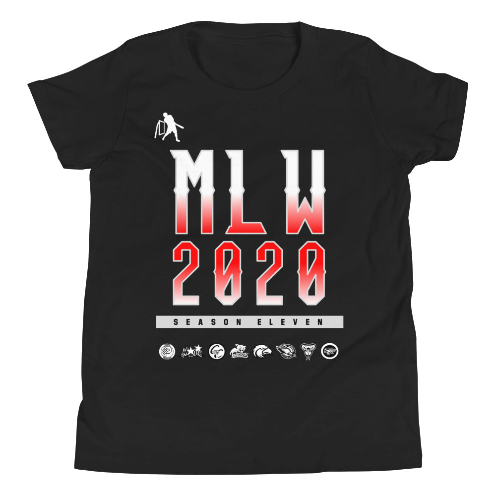 MLW 2020 YOUTH Tee - Black
