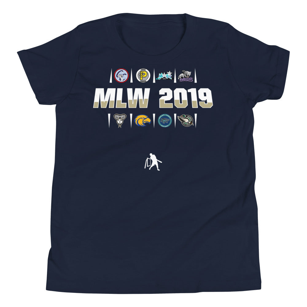 MLW 2019 YOUTH Tee - Navy