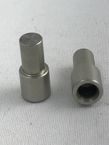 Precision turn between center bushings