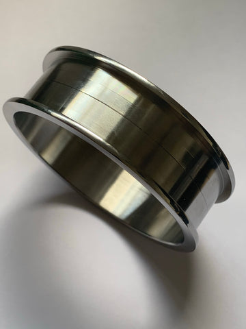 Stainless steel bangle blank - Core for wood bracelet making