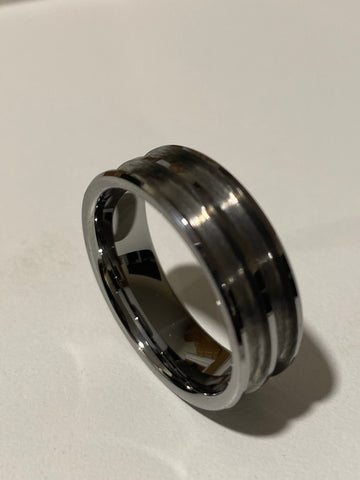 Tungsten Double channel ring core