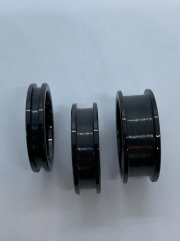 Black plated Tungsten ring core