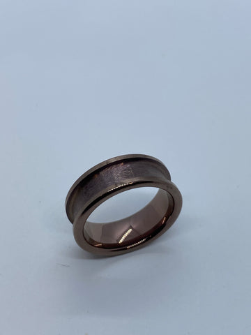 Bronze plated Tungsten ring core
