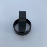 Flat Black plated Tungsten polished edge outside or inside ring core