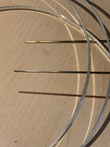 Square ring Inlay wire